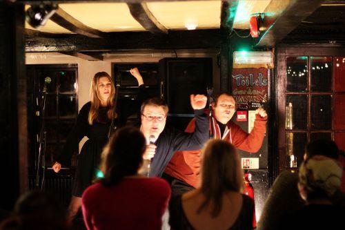 Club Soda performing at DRUNKEN NIGHTS II